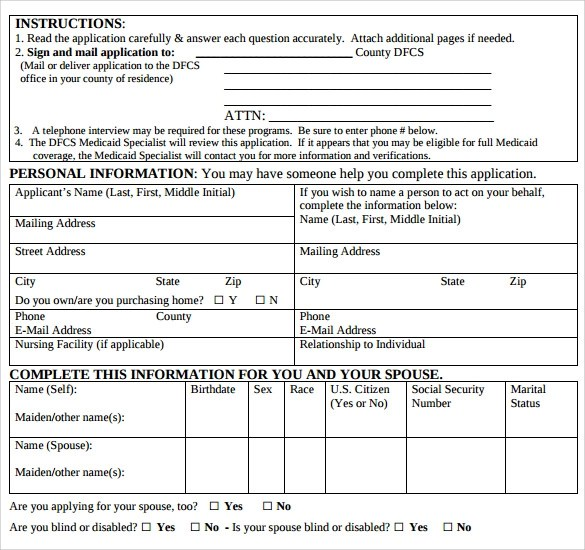Medicare Application Form Ny