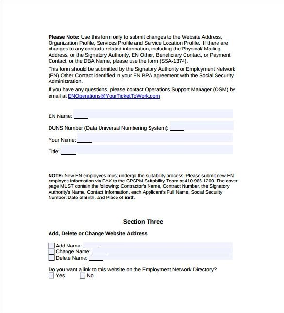 purchase form template