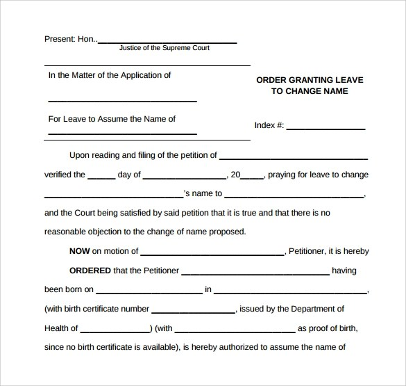 11 Change Order Templates to Download Sample Templates - sample change order template