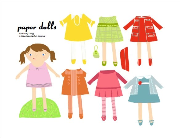 7+ Sample Paper Dolls Sample Templates