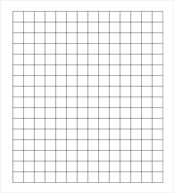 editable grid paper