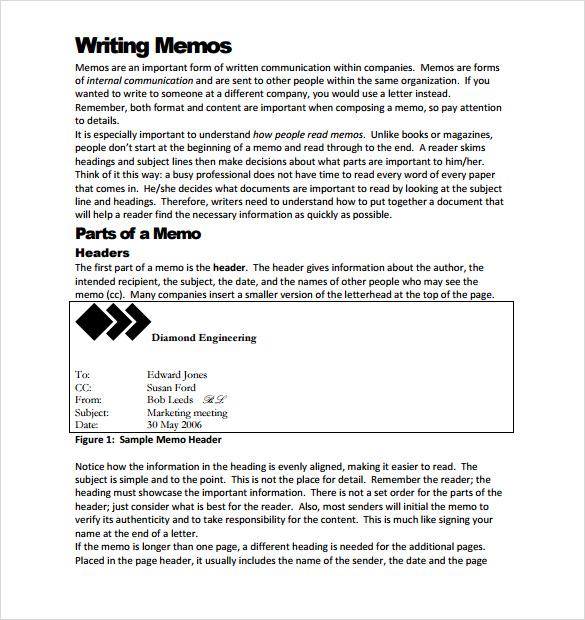 Doc#494640 Sample Formal Memorandum u2013 Free Memorandum Template - formal memo