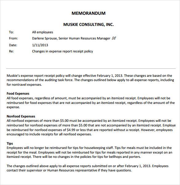Employee Memo Templates  NodeResumeTemplatePaasproviderCom