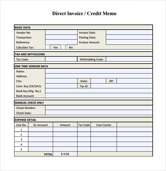 what is credit memorandum