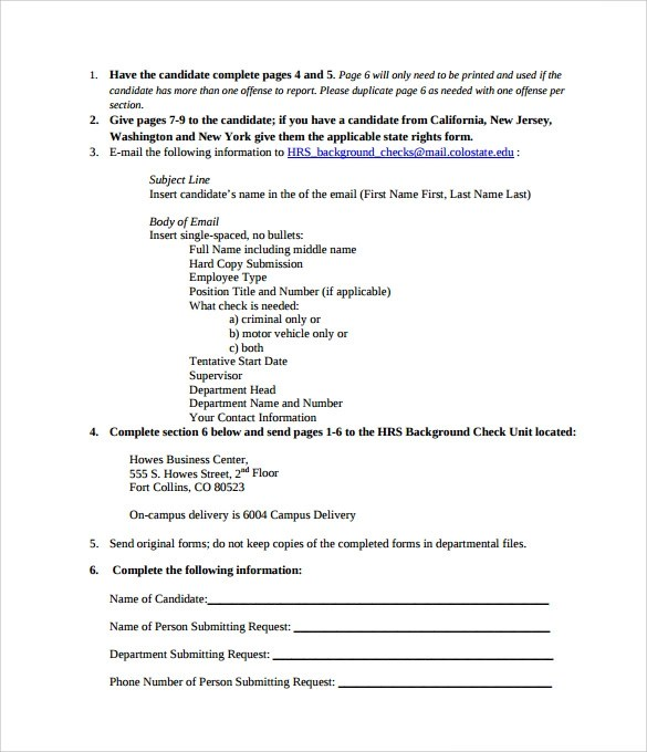 background check authorization form - background check consent forms