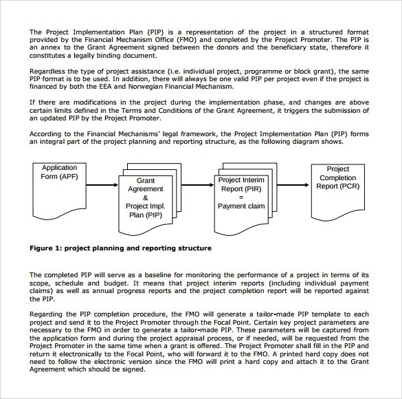 Sample Implementation Plan - 10+ Free Documents in PDF, Word - implementation plan templates