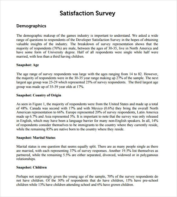 sample employee satisfaction survey templates