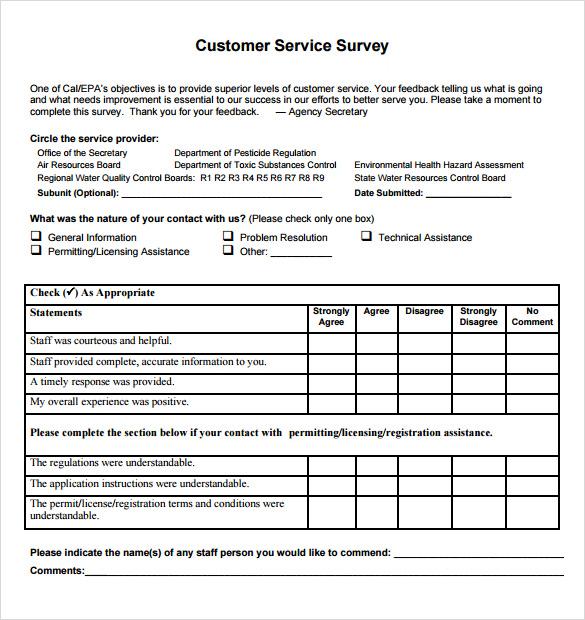 Sample Customer Satisfaction Survey - 15+ Documents In PDF, Word