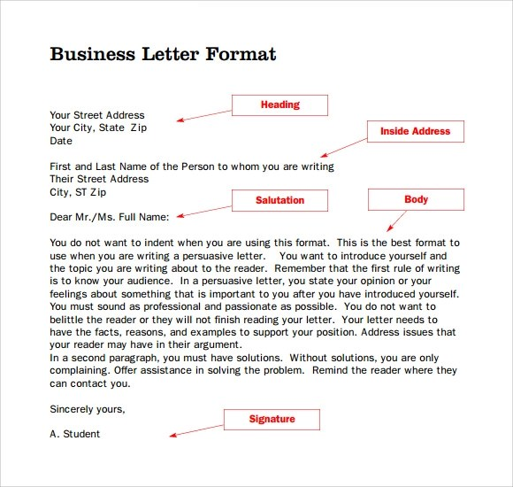 Business Letter Format Letterhead Sample - letterhead examples for business
