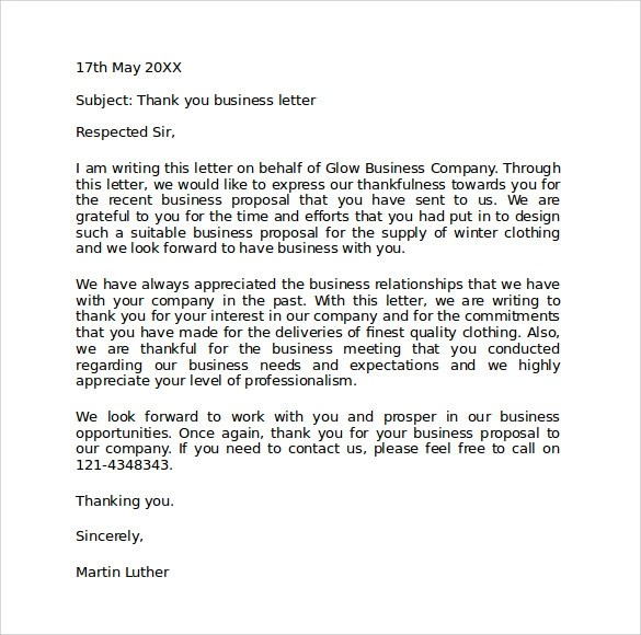 8 Official Business Letter Format Templates to Download Sample - official letter format