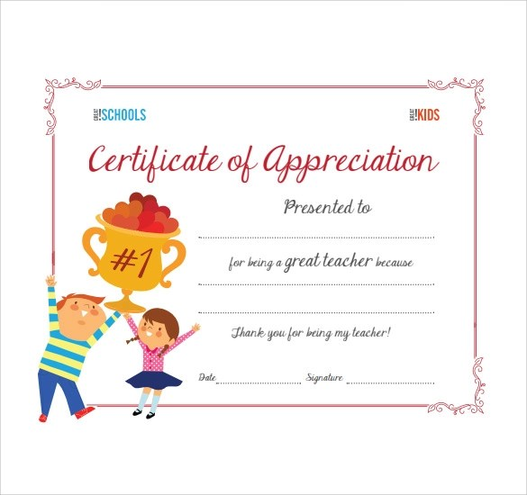 Template for a certificate of appreciation pasoevolist template for a certificate of appreciation certificate of appreciation template for word yelopaper Images