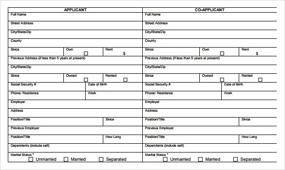 8 Personal Financial Statement Forms to Download Sample Templates