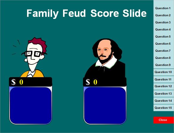 5+ Family Feud Power Point Templates u2013 Free Sample, Example, Format - family feud power point template