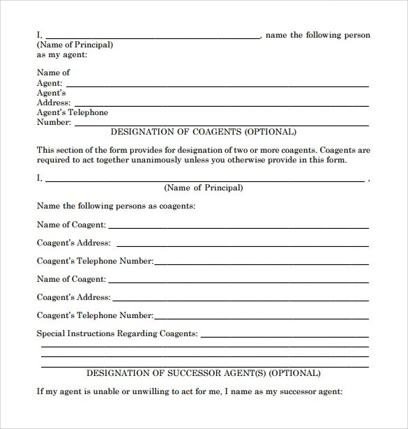 Sample Limited Power of Attorney Forms - 8+ Free Documents in PDF, Word