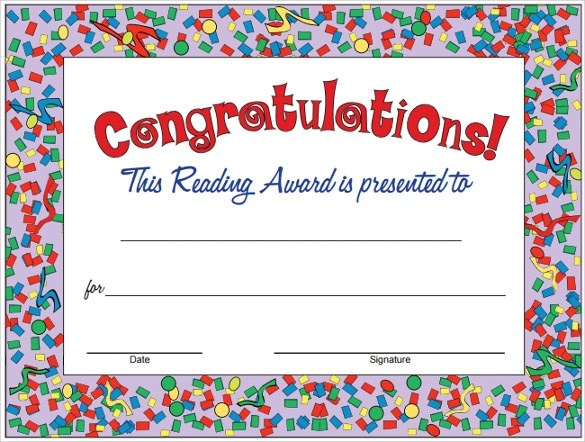 23+ Congratulations Certificate Templates Sample Templates