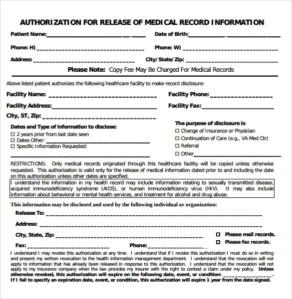 free personal health record template - Selol-ink - sample health record