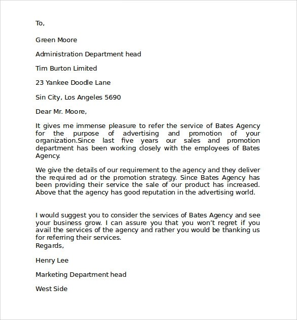 7+ Personal Business Letter Format Samples Sample Templates - personal business letter example