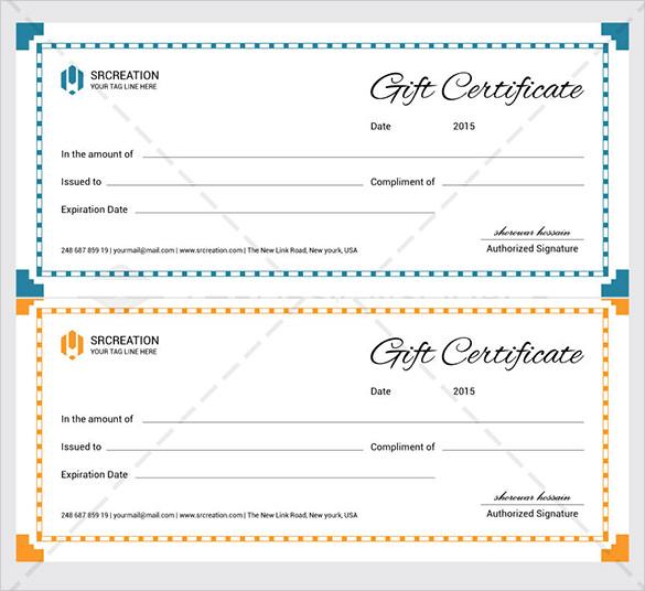 sample gift voucher template - gift voucher examples
