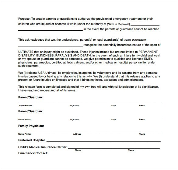 13 Medical Authorization Forms to Download Sample Templates