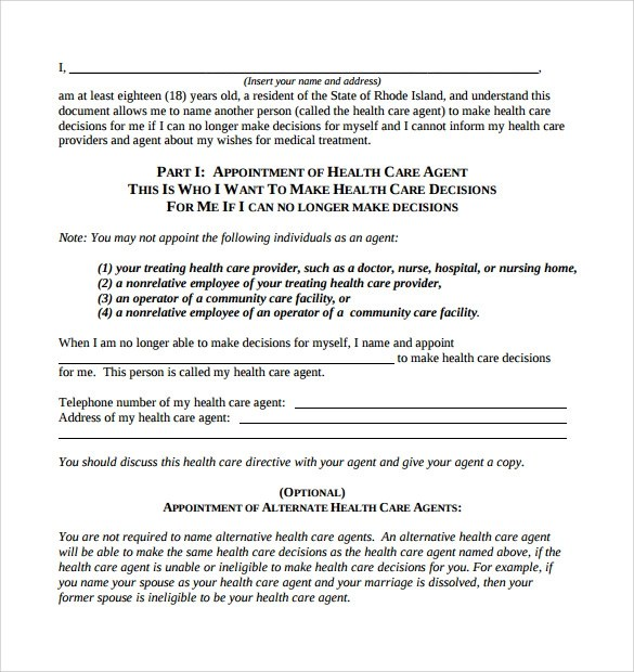 15 Sample Medical Power of Attorney Form Templates to Download