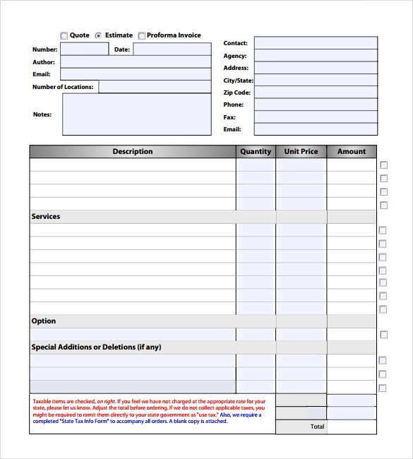 Download Electrical Invoice Template Pdf | Rabitah.Net