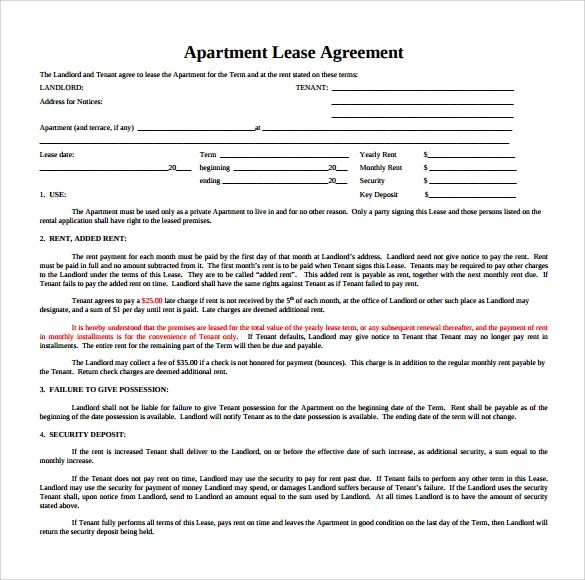 free commercial lease agreements forms - Onwebioinnovate