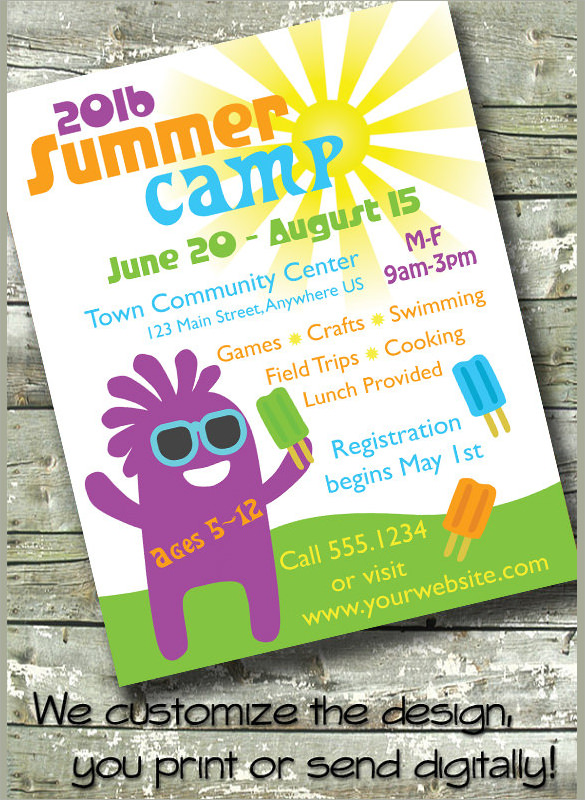 13+ Summer Camp Flyer Templates to Download Sample Templates - examples of a flyer