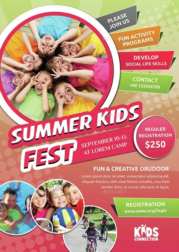 13+ Summer Camp Flyer Templates to Download Sample Templates - Summer Camp Flyer Template