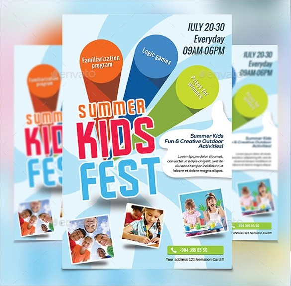 Summer Camp Flyer Template - 12+ Download Documents in PDF, PSD - camp flyer template