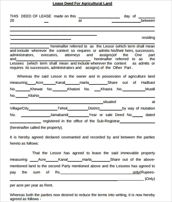 Rental Agreement Sample For Equipment | Sample Resumes For