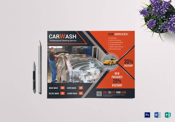 25+ Car Wash Flyers Sample Templates