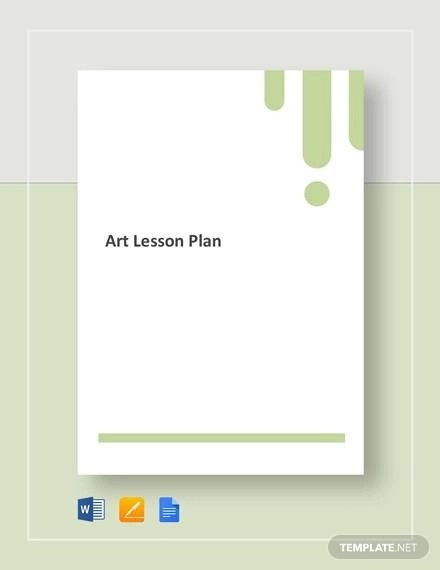 Sample Art Lesson Plan - 8+ Documents in PDF, Word