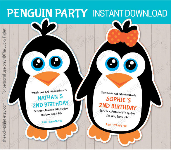 11 Amazing Penguin Templates to Download Sample Templates - penguin template