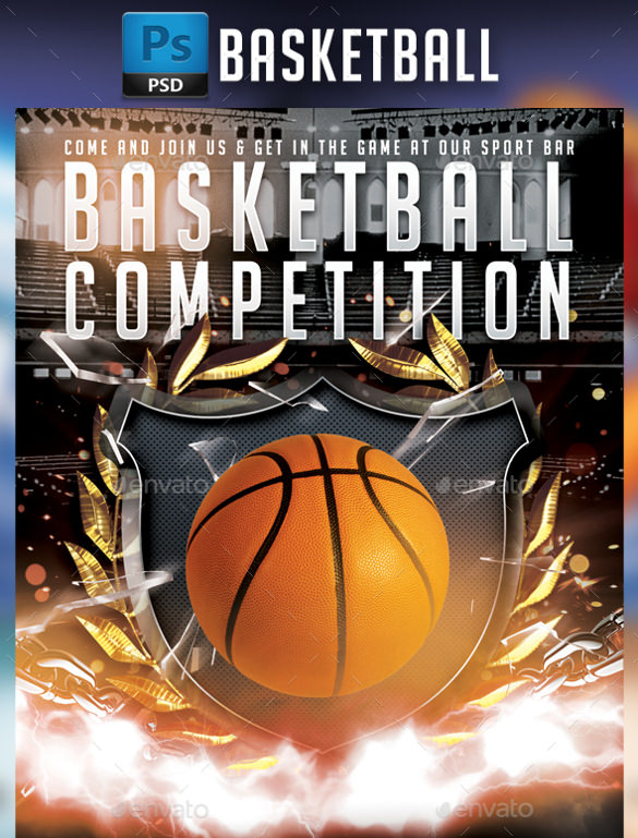 24+ Basketball Flyer Templates to Download Sample Templates - basketball flyer example