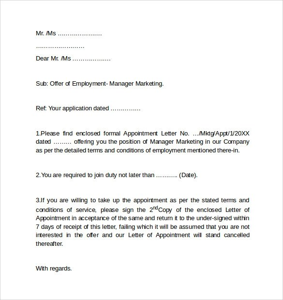 Employment Cover Letters Professional Cover Letter Service - employment cover letter examples free