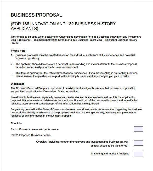 Sample Business Proposal - 24+ Documents in PDF, Word