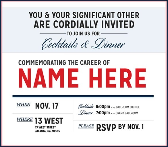 Invitation Letters Sample Template Party | Create Professional