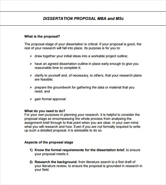 Sample Formal Proposal Template - 7+ Free Documents in PDF, Word - formal proposal example