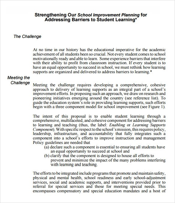 28+ Formal Proposal Templates Sample Templates - academic proposal template
