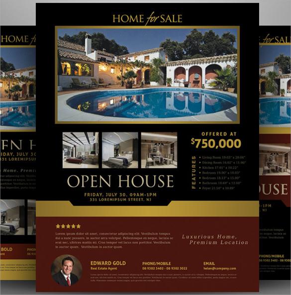 19+ Open House Flyers Sample Templates - open house flyer