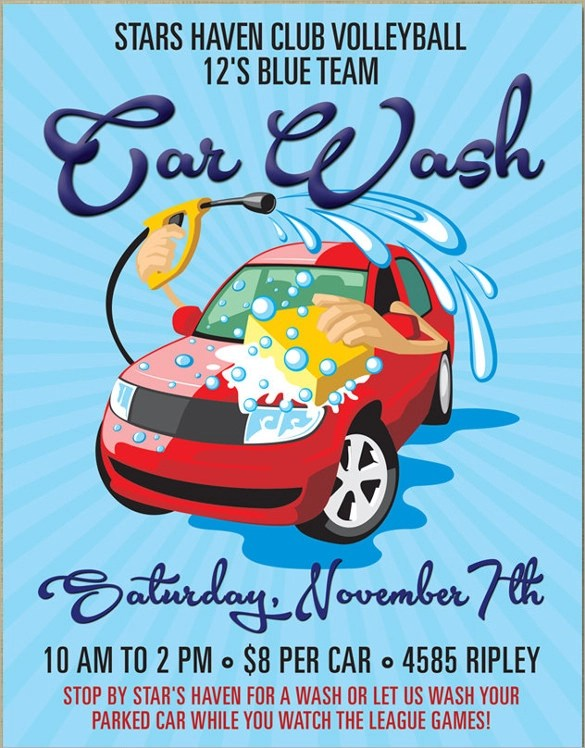 Benefit Flyer Templates Templatebillybullock  - car wash flyer template