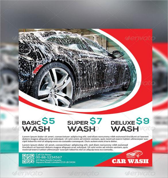 10+ Car Wash Flyers - PSD, Vector EPS - car wash flyer template