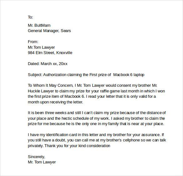 Sample Medical Treatment Authorization Letter Printable - work authorization letter