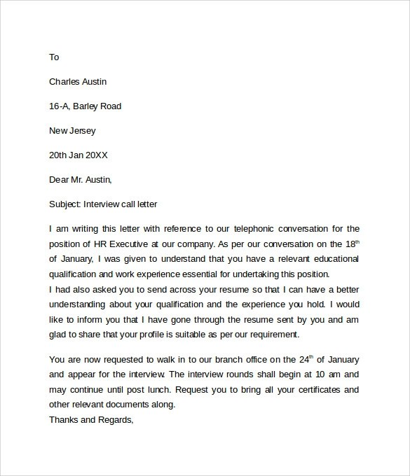 Letter Format Formal Writing Sample Template And Example Sample Letter Of Explanation 7 Documents In Word