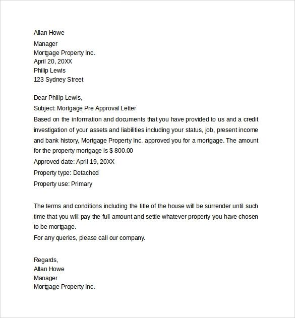 letter of credit approval