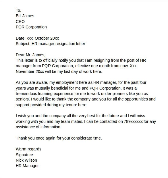 Reference Letter For Employee Leaving Sample Sample Reference Letter To Recommend An Employee Resignation Letters 9 Download Free Documents In Pdf Word