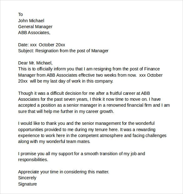 Breach Contract Letter Example | Resume Maker: Create professional ...