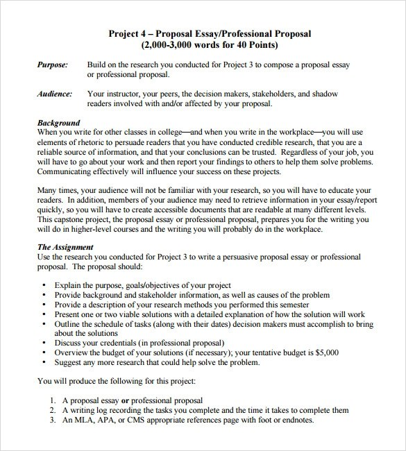 Marketing research proposal example free