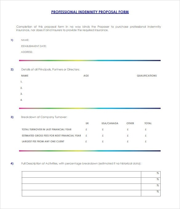 Sample Professional Proposal Template - 6+ Documents In Pdf - event proposal template