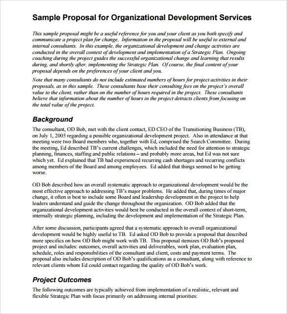 13+ Service Proposal Samples Sample Templates - it services proposal template